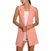 Sleeveless Open-Front Cardigan for Women