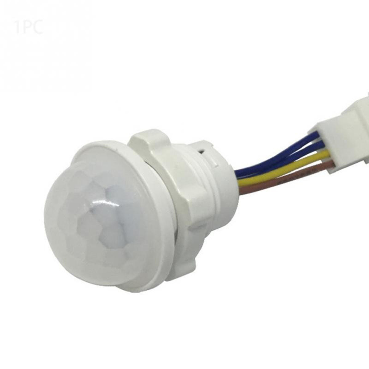Adjustable White Infrared Motion Sensor Light