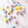 Room Decoration Nordic Wool Pom Pom Garland for Kids