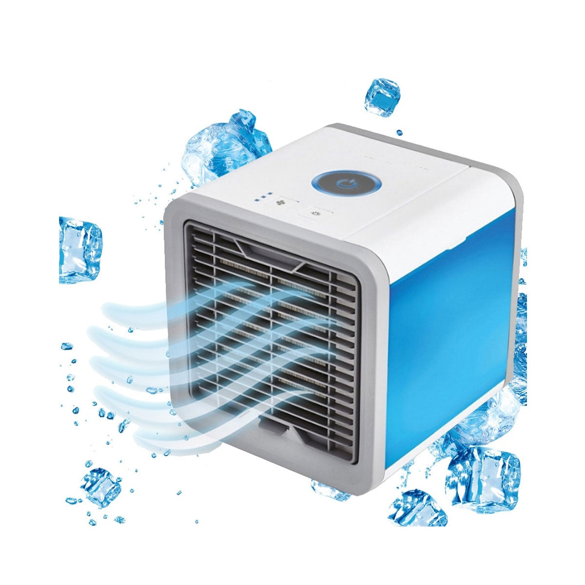 Freon Free Eco-Friendly Led Portable Air Conditioner With Noiseless Fan