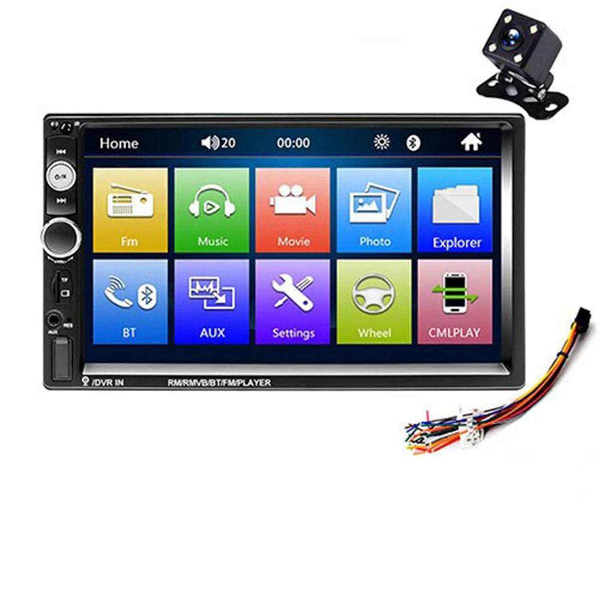 Android Car Multimedia Player with GPS