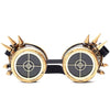 Halloween Cosplay Party Steampunk Glasses