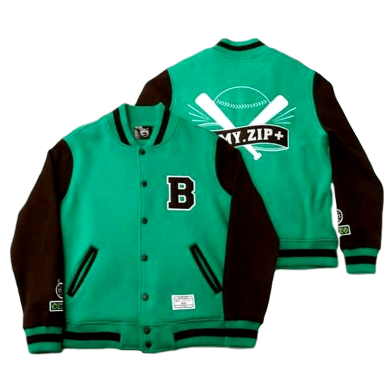 Washer-Friendly Durable Unisex Bts Baseball Jacket