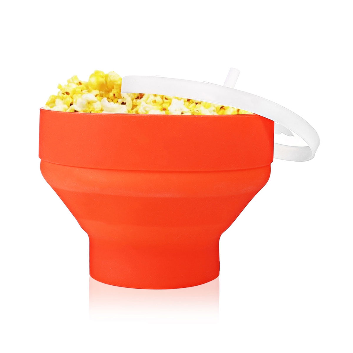 Collapsible Design Microwave Popcorn Maker Made of High-Quality Silicone