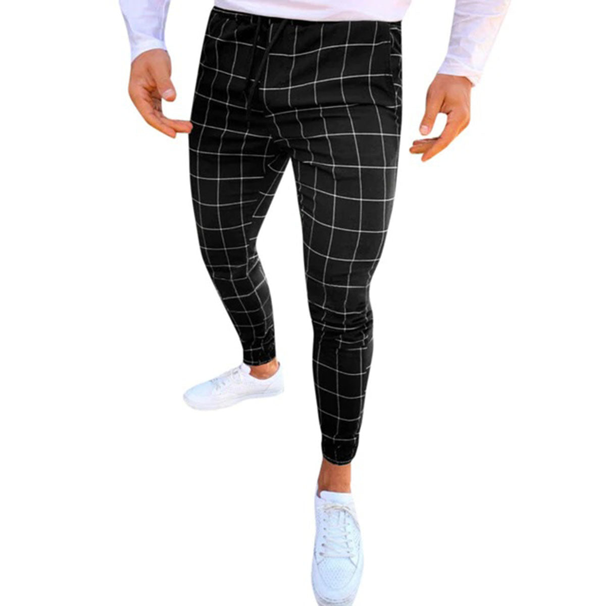 Mens Slim Fit Chinos Super Comfy Stretch Pants