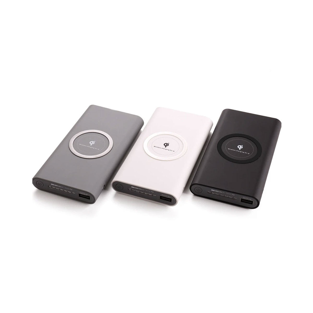 Smart Wireless Abs plastic10000mah Type-C Power Bank