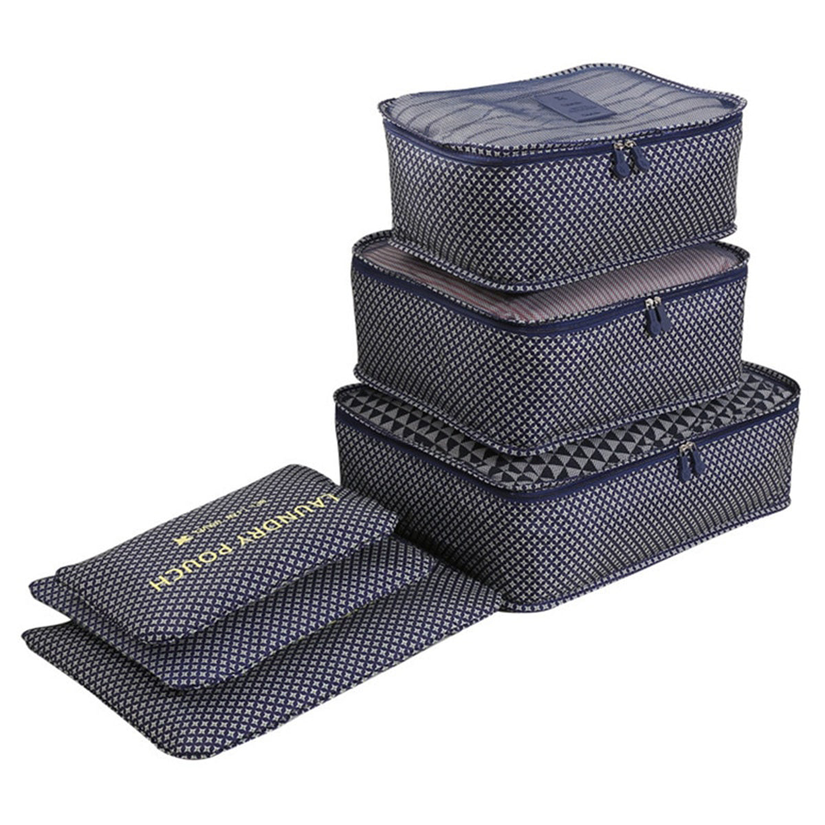 Travel Organizer Suitcase with Clothing Dividers