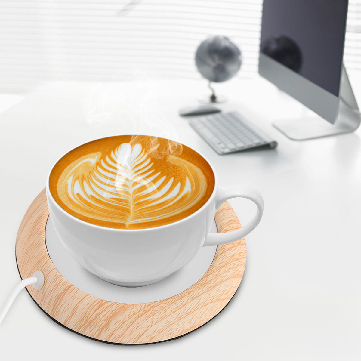 Stylish & Energy-Saving Cup Warming Mat with High Temperature Control
