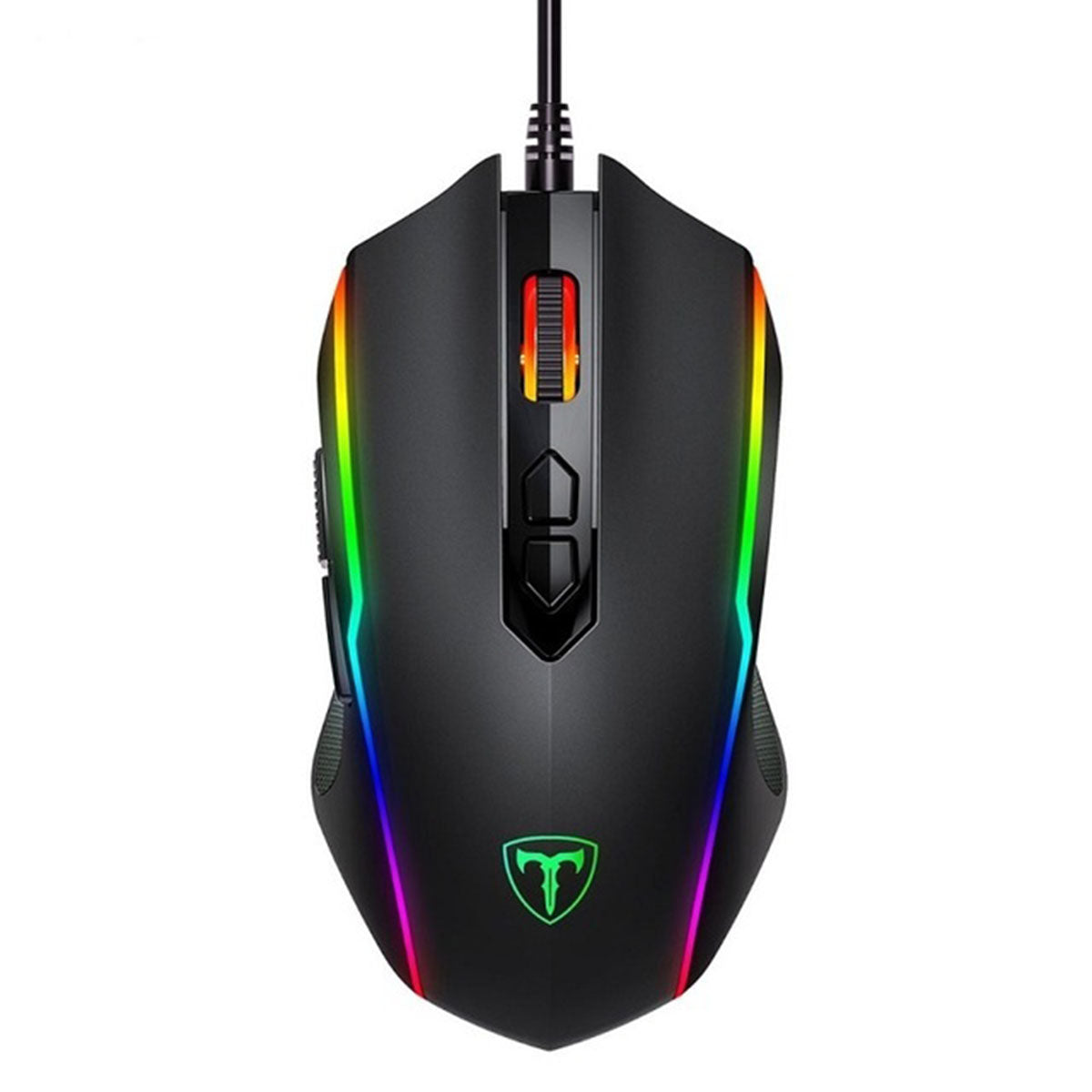 Ergonomic Programmable RGB Gaming Mouse