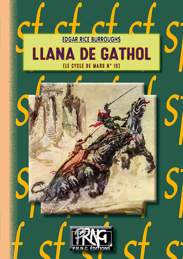 SF022 - Llana de Gathol • (cycle de Mars, 10)