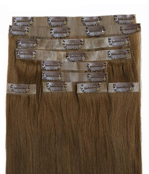 Sophie Invisible Clip-in Virgin Remy Human Hair Extensions