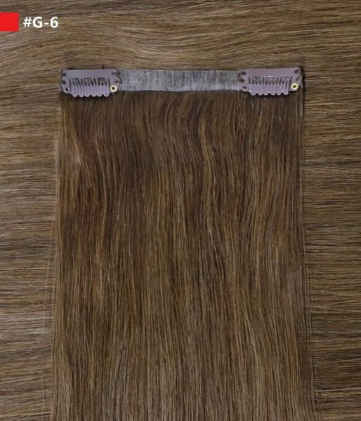 "Ashley 160G 20"" Invisible Clip-in Remy Human Hair Extensions"