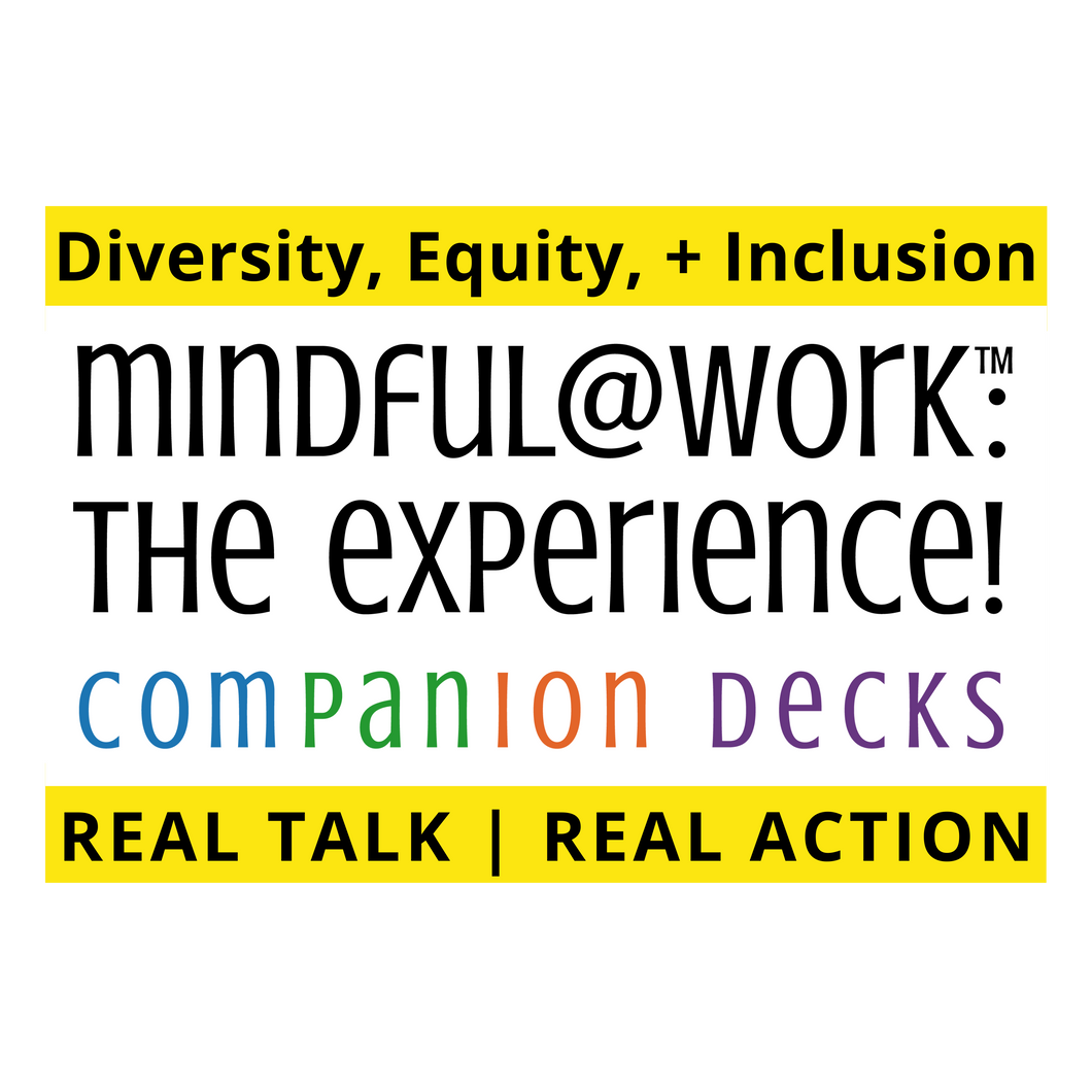m@w Companion Deck: Diversity, Equity and Inclusion Real Talk - Real Action! PREORDER