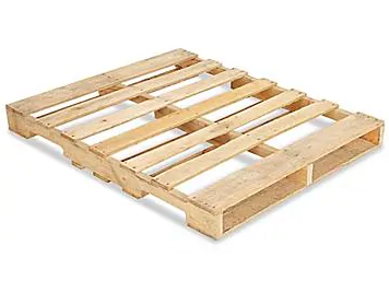 New Wood GMA Pallet - 48 x 40 4-Way Virgin Wood Heat Treated - RoundLakePallets