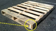 #2 40X48 4-Way Recycle - RoundLakePallets