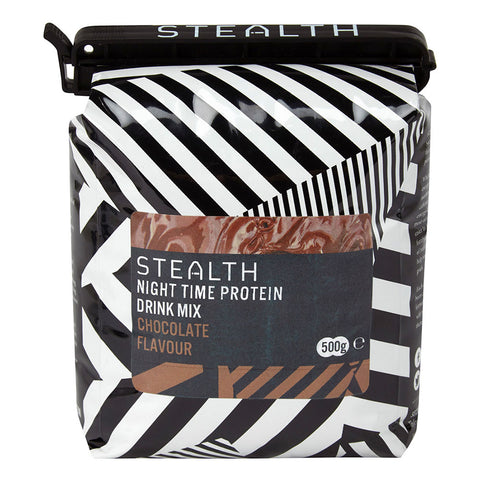 Slow release formula to be taken before bed, maintains protein pool to assist recovery.   Chocolate flavour.