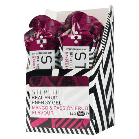 Stealth Real Fruit Energy Gel 60ml x 14