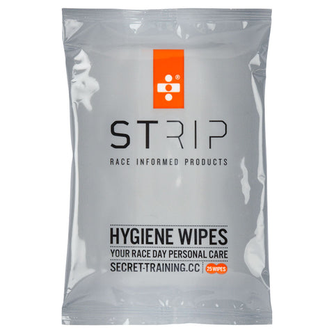Strip Hygiene Wipes x 3 pks