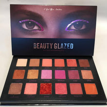 Load image into Gallery viewer, 🌟Traci K Beauty  Glazed Holiday 18 Colors Glitter Eyeshadow Pallete Matte Shimmer Glitter Eyeshadow Palette Pigments Waterproof Cosmetics TSLM2