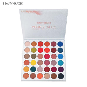 Beauty Glazed  40 Color Glitter Diamond Eyeshadow Pallete Makeup Palletes Make Up Eye Shadow Magnet Palette Dropshipping TSLM1