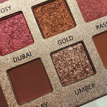 Load image into Gallery viewer, Traci K Beauty 18 Color Beauty Glazed Eyeshadow Palette Eye Makeup Shining Glitter Pigment Smoky Eye Shadow Pallete Waterproof Cosmetics
