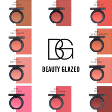 Load image into Gallery viewer, Traci K Beauty Glazed Makeup Natural Blush Baked Cheek Face Blusher Texture Baked Blush Face Base 10 Colors Mineral Blusher Palette