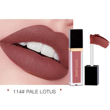 Load image into Gallery viewer, Traci K Beauty Glazed 24 Colors Matte Lip Gloss Natural Long-lasting Waterproof No Fading Non-stick Cup Lip Glaze Sexy Lip Makeup TSLM1