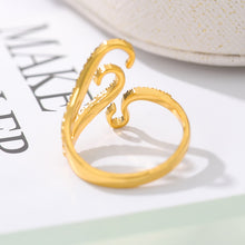 Load image into Gallery viewer, Adjustable Gothic Rings For Women Men Gold Silver Color Sea Squid Octopus Ring Fashion Jewelry Vintage Rock Opened Size Anillos