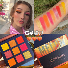 Load image into Gallery viewer, Traci K BEAUTY GLAZED Universe  Eyeshadow Palettes Holographic Universe Shiny Matte Glitter Pigment Eye Shadow Pallete Metallic Diamond Makeup Palette
