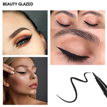 Load image into Gallery viewer, Traci K BEAUTY GLAZED waterproof liquid Eyeliner Pen Black Eye pencil keep 24H makeup beauty and top quality eyeliner cosmetic makeup