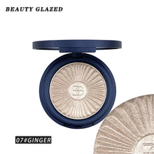 Load image into Gallery viewer, Traci K BEAUTY GLAZED Highlighter Powder Palette Face Contouring Makeup Eyeshadow Palette Face Bronzer Highlighter Brighten Skin 8 Color
