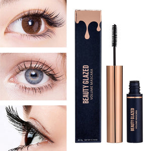 Traci K Beauty Glazed  New Eyelashes Makeup Waterproof Mascara Volume Black Mascara Eyelashes Makeup Silky Eyelashes Lengthening Eye Cosmetics TSLM1