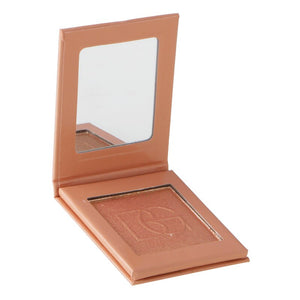 Traci K Beauty Glazed 6 Color Highlighter Bronzer Powder Shimmer Eyeshadow Palette Blusher Professional Contour Brightening Face Palette