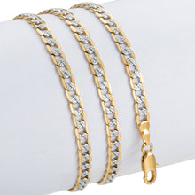 Load image into Gallery viewer, Trendsmax Gold Chain Necklace Men Women Cuban Link Chain Male Necklace Fashion Men's Jewelry Wholesale Gifts 4mm GN64