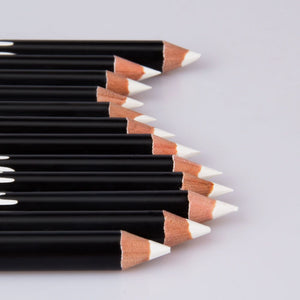 Traci K Beauty Professional Wooden White Eyeliner Pencil Soft Makeup Easy To Use Eyes Polish Eye Liner Pen Waterproof Make Up Comestic