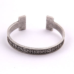 1pc Men's Handmade Nordic Rune Bangle Viking