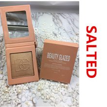 Load image into Gallery viewer, Traci K Beauty Glazed 6 Color Highlighter Bronzer Powder Shimmer Eyeshadow Palette Blusher Professional Contour Brightening Face Palette
