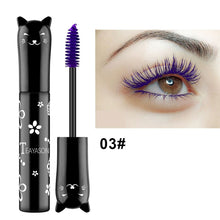 Load image into Gallery viewer, Traci K Beauty Cat Colored Fashion Sexy White Mascara Makeup 4D Silk Fiber Lash Mascara Waterproof Rimel 3d Mascara Extension Thick Long Curling Eyelash