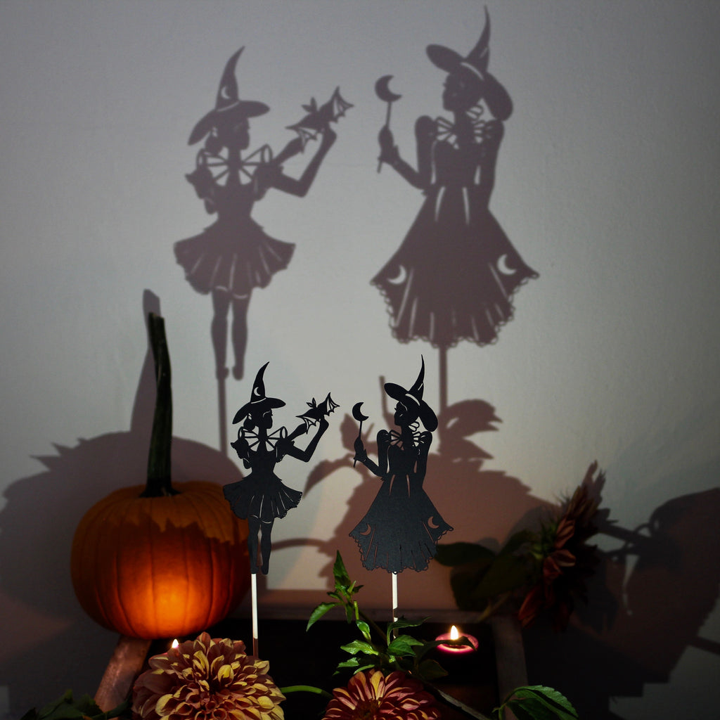 Ghosts of the Home Shadow Puppet Set