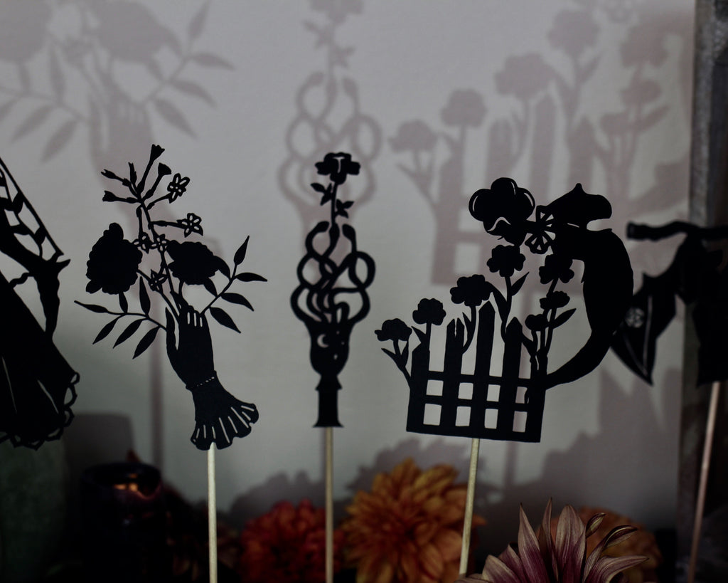 Ghosts of the Garden Shadow Puppet Set