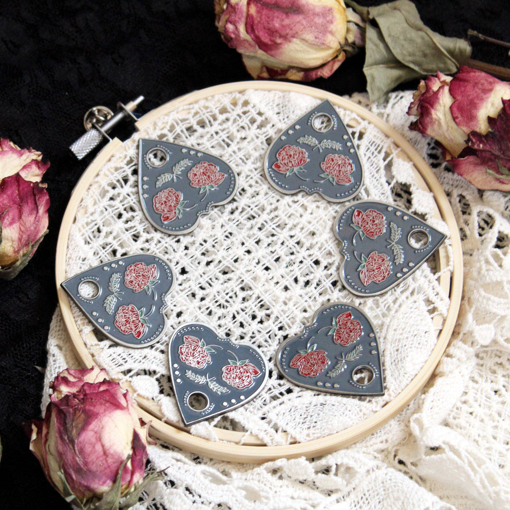 Planchette Brooch by Leila + Olive