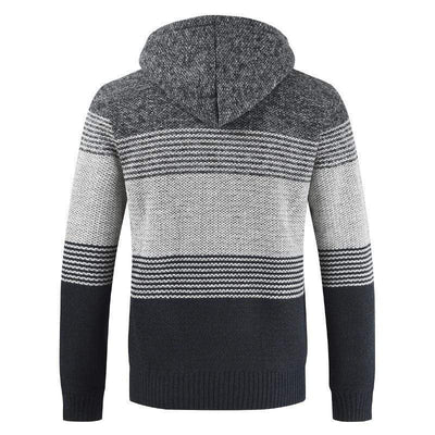 Big Sky Hooded Wool Cardigan