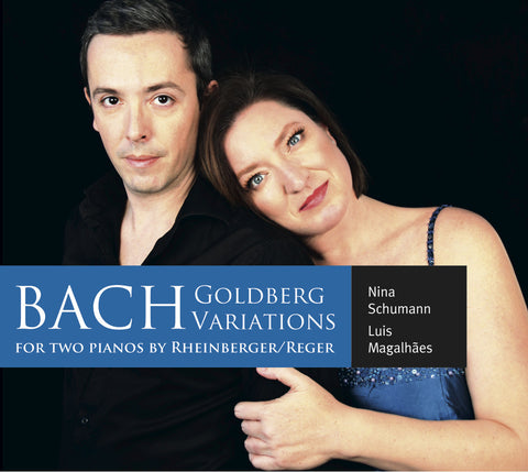 BACH GOLDBERG VARIATIONS FOR TWO PIANOS