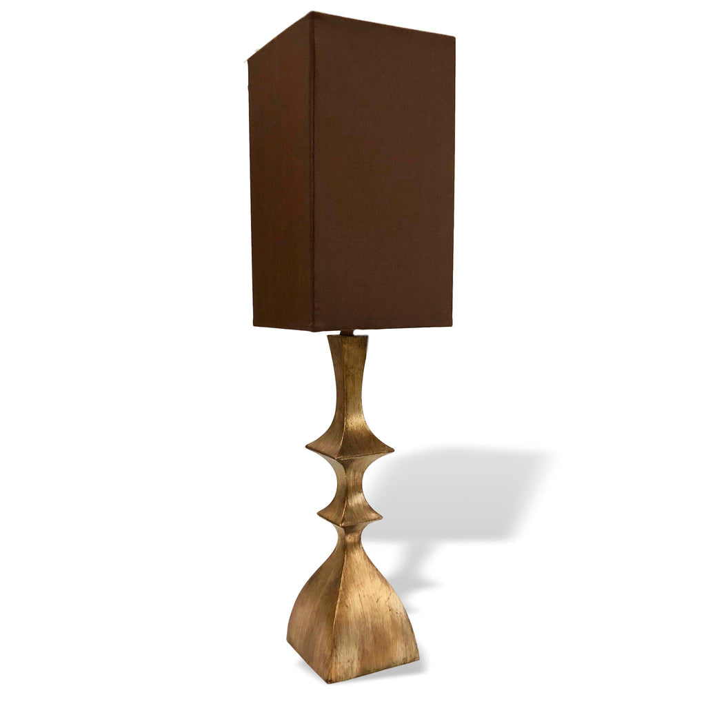 Bronze Finial Lamp