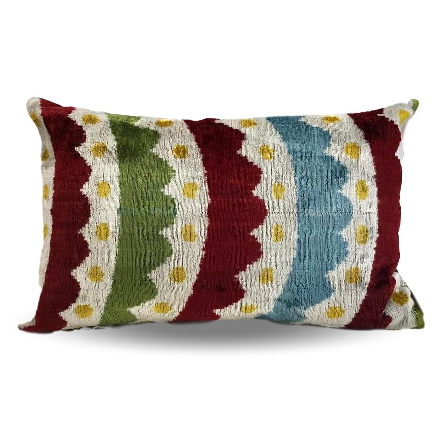 Multicolor Paterned pillow