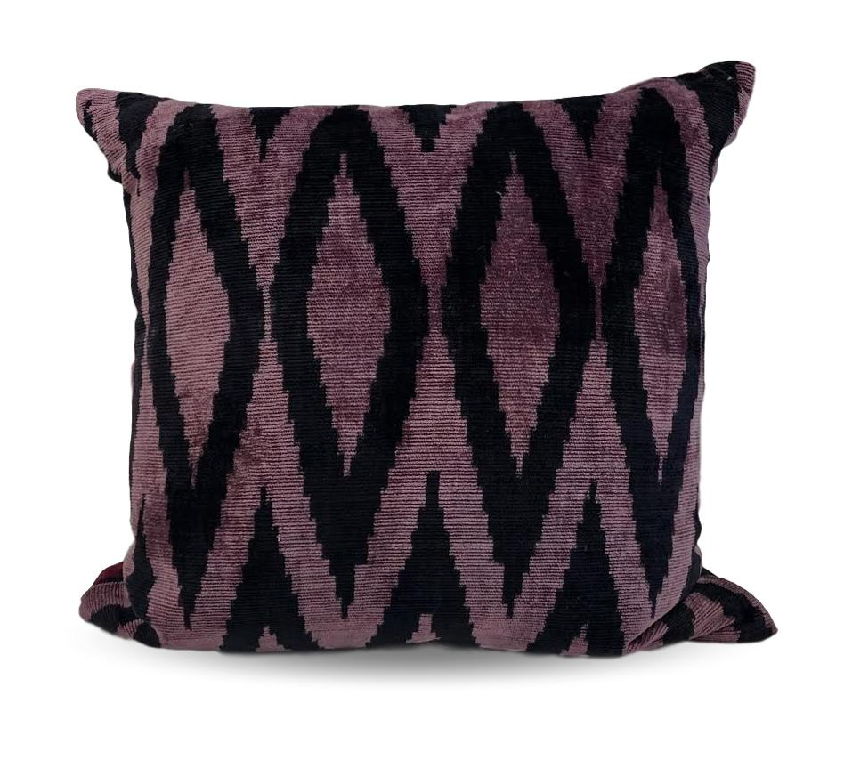 Purple and Black zig-zag