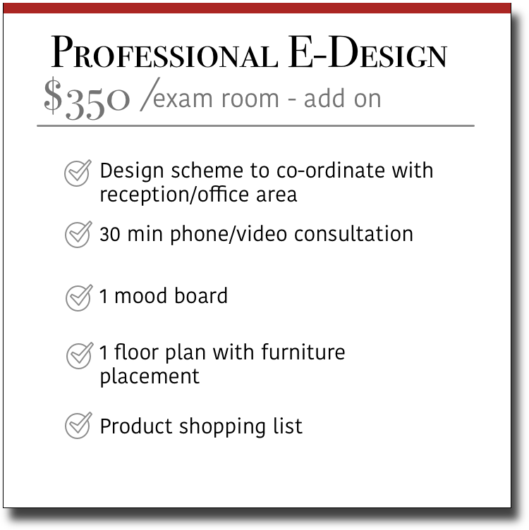 Professional E-Design Exam Room