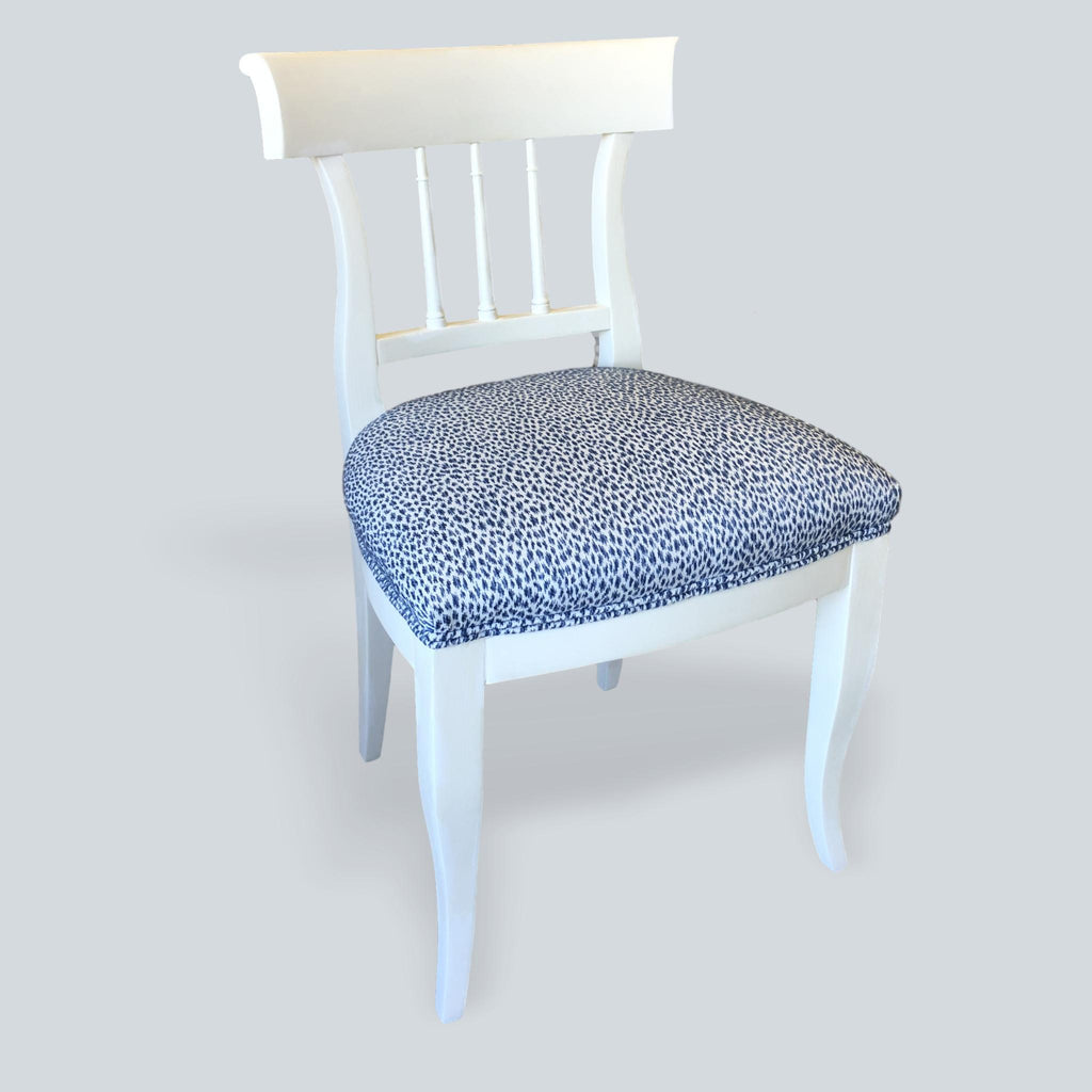 White & Blue chairs