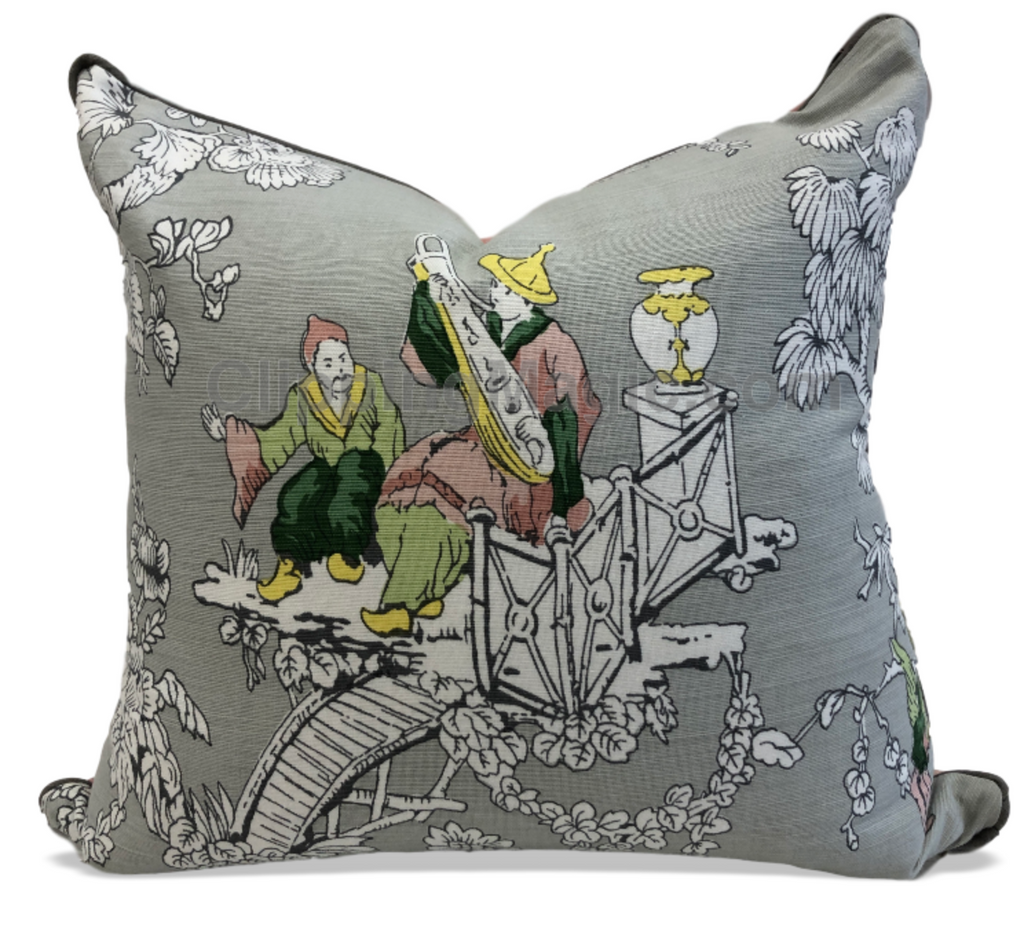Custom Thibaut Pillow- Musician