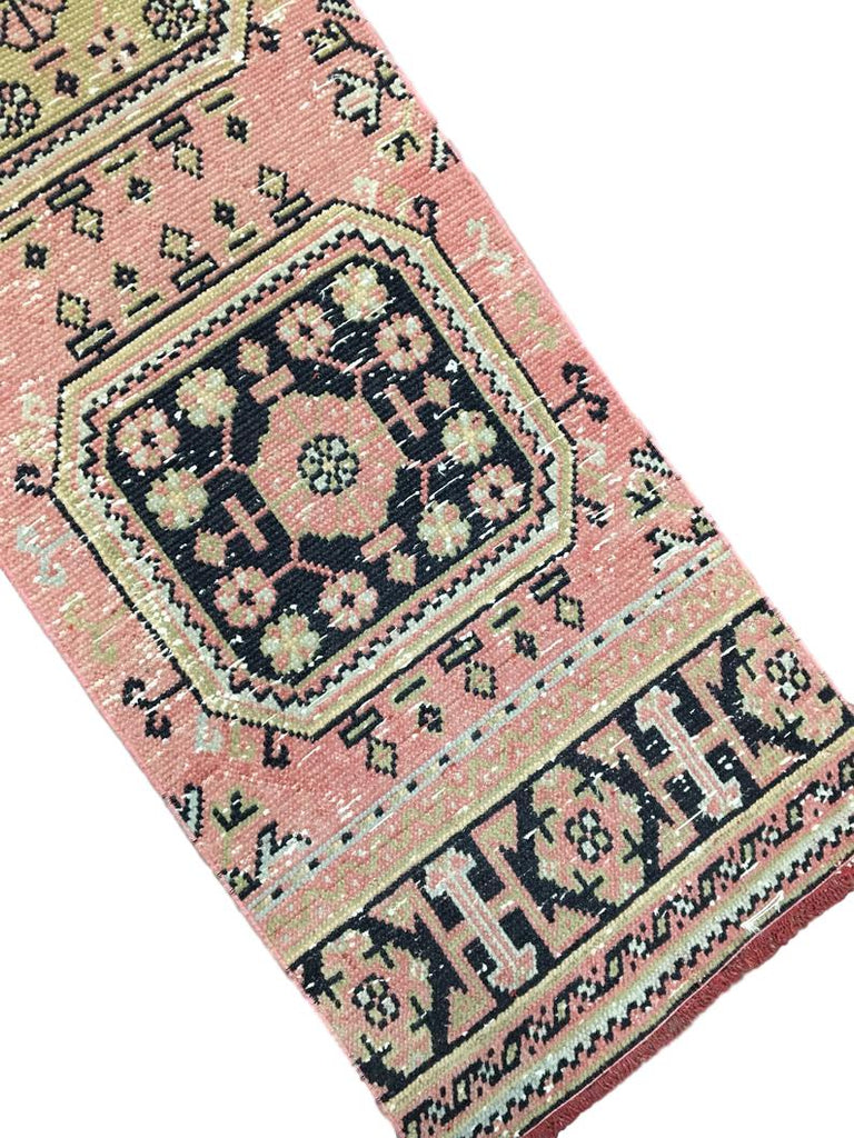 Vintage Turkish Pink Runner